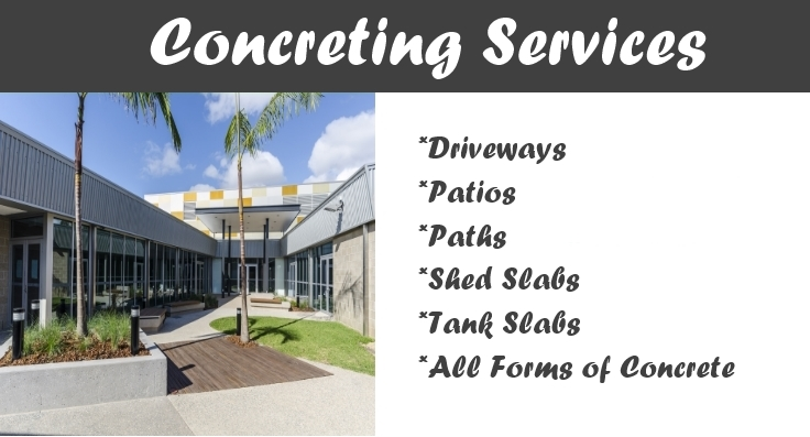 Gympie Concreter - Concreting Services